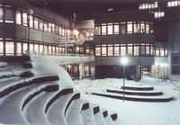 Atrium im Winter