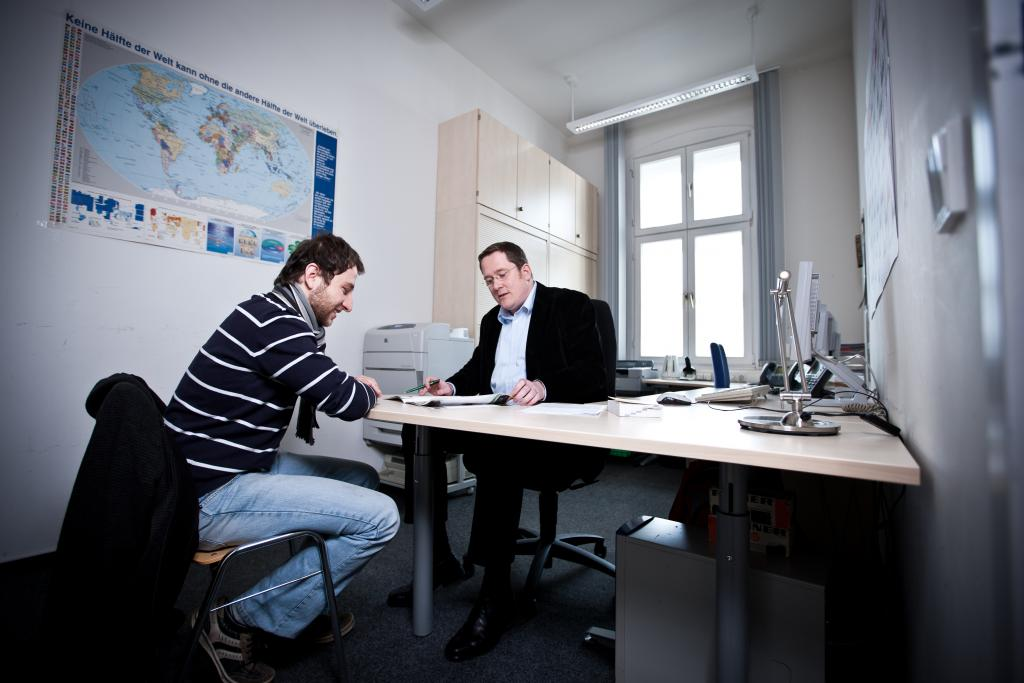 Beratung im International Office